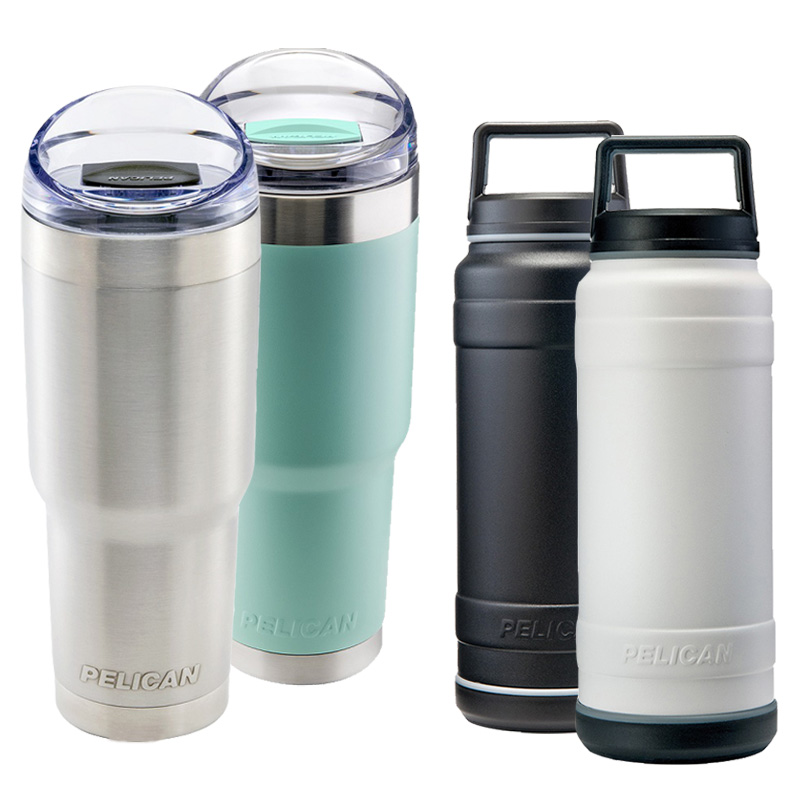 Pelican™ Tumbler and Bottles