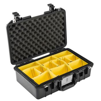 Black Pelican 1485 Air Case with Padded Dividers
