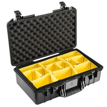 Black Pelican 1525 Air Case with Dividers