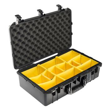 Black Pelican 1555 Air Case with Padded Dividers