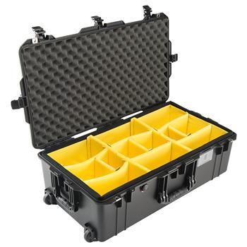 Black Pelican 1615 Air Case with Padded Dividers