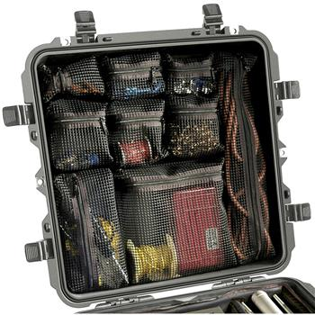 Pelican 0340 Case Lid Organizer (Contents Shown not Included)