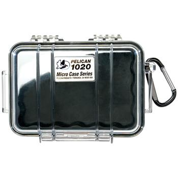 Clear Pelican 1020 Micro Case with Black Liner
