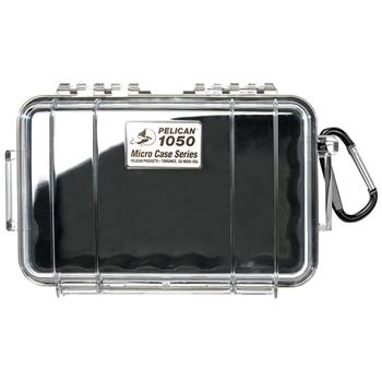 Clear Pelican 1050 Micro Case with Black Liner