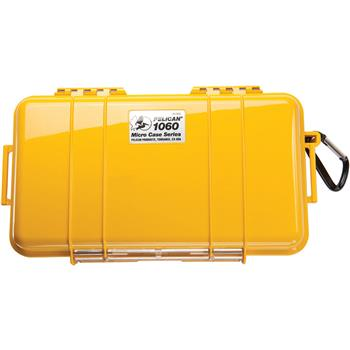 Yellow Pelican 1060 Micro Case with Black Liner
