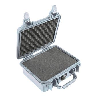 Silver Pelican 1200 Case with Foam