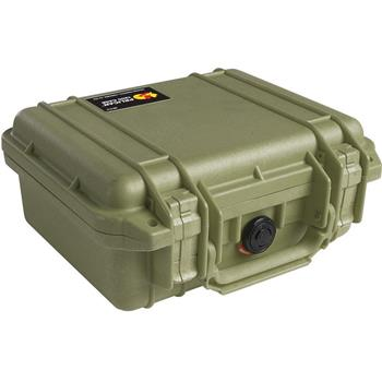 Olive Drab Pelican 1200 Case with No Foam