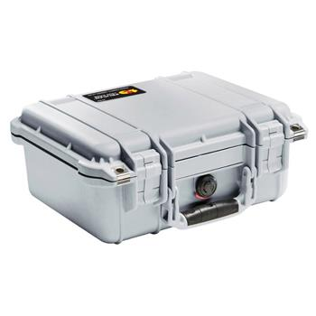 Silver Pelican 1400 Case with No Foam