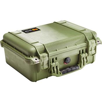 Olive Drab Pelican 1450 Case with No Foam