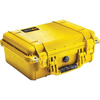 Yellow Pelican 1450 Case with No Foam