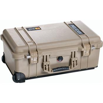 Desert Tan Pelican™ 1510 Carry On Case with no foam