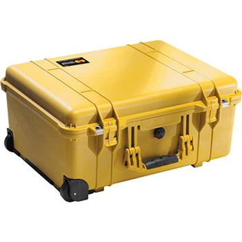 Yellow Pelican 1560 Case with No Foam