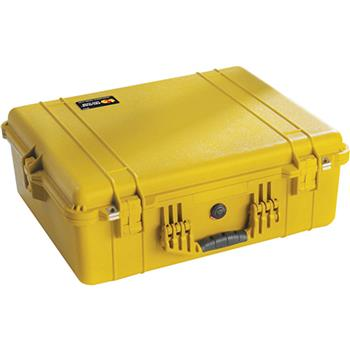 Yellow Pelican 1600 Case with No Foam