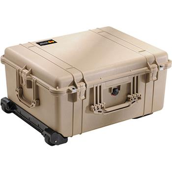 Desert Tan Pelican 1610 Case with No Foam