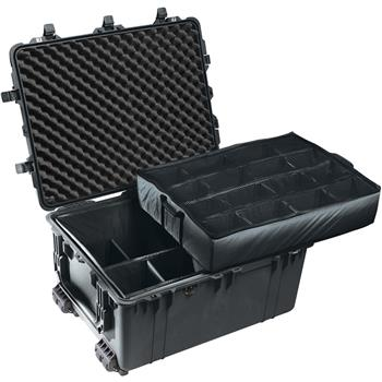 Black Pelican 1630 Transport Case with Padded Dividers