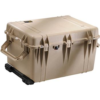 Desert Tan Pelican 1660 Case with No Foam