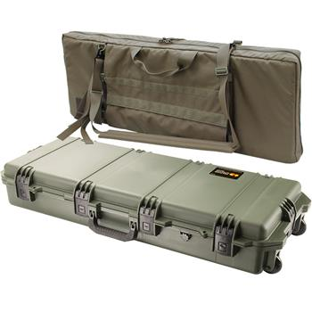 Olive Drab Pelican iM3100 Case with Coyote Brown FieldPak Soft Bag