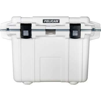 Pelican™ 50 Quart Elite Cooler White with Gray Trim