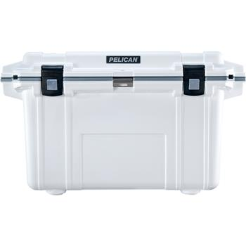Pelican™ 70 Quart Elite Cooler White with Gray Trim