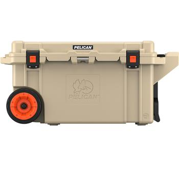 Pelican™ 80 Quart Elite Cooler with press and pull latches