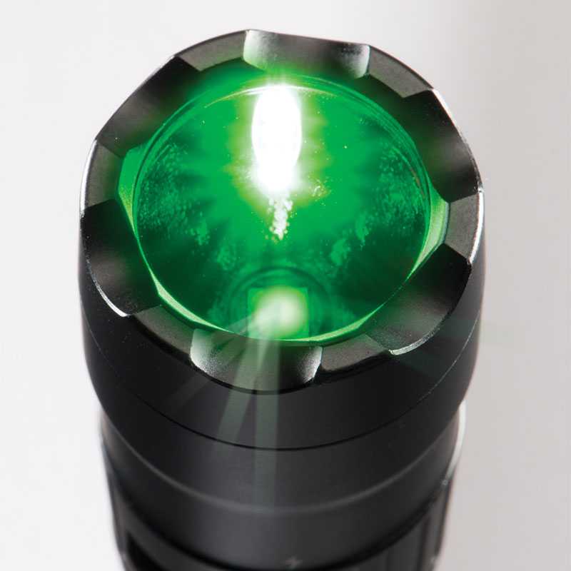 Pelican™ 7600 Tactical Flashlight Green LEDs