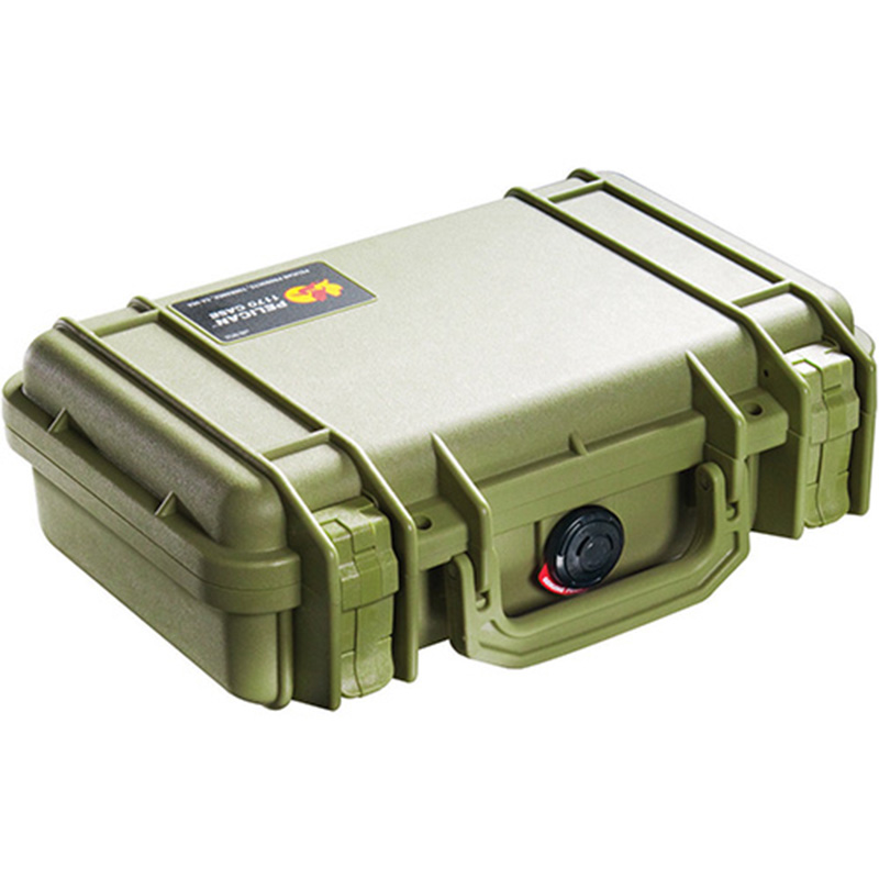Olive Drab Pelican 1170 Case with No Foam