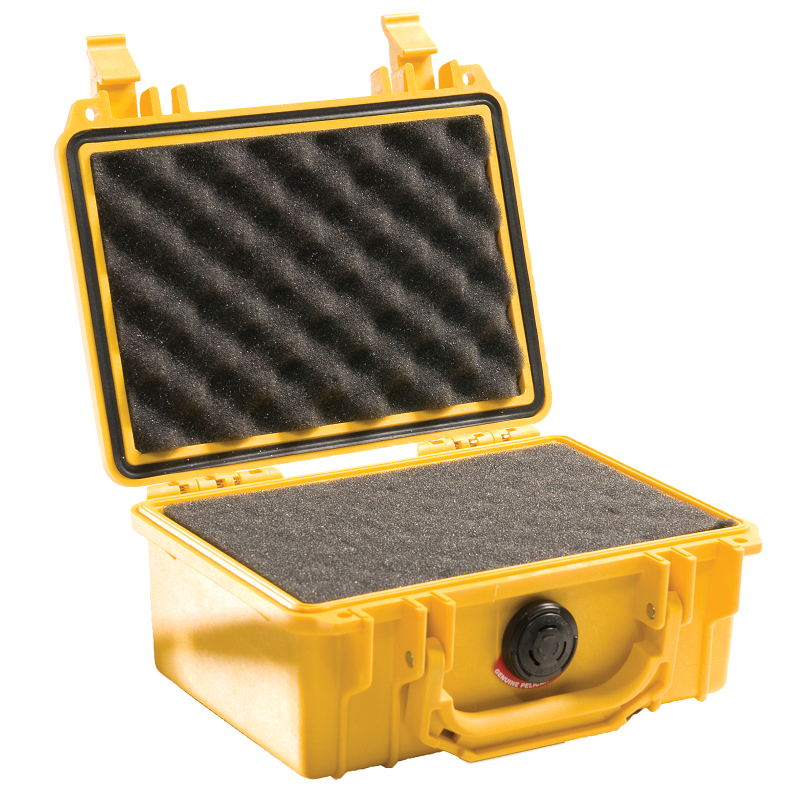 Yellow Pelican 1120 Case with Foam