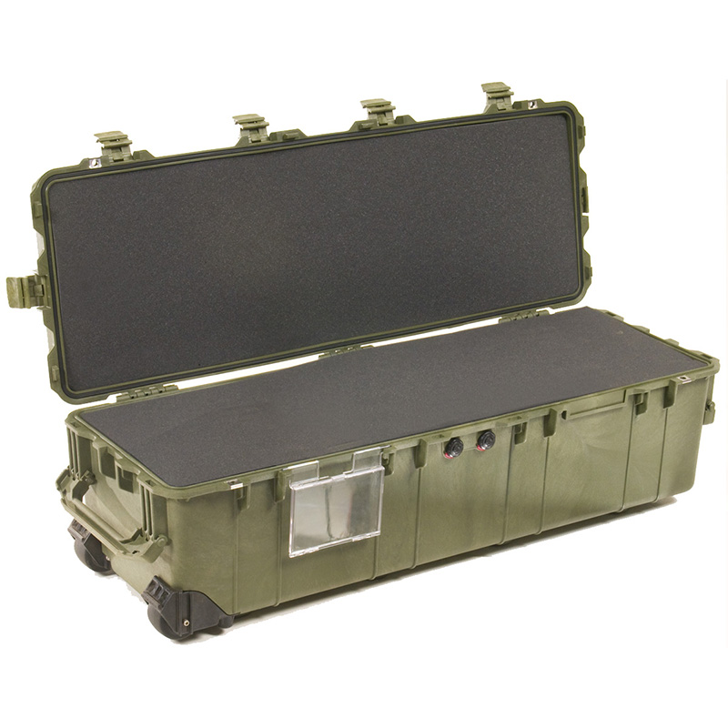 Olive Drab Pelican 1740 Long Case with Foam