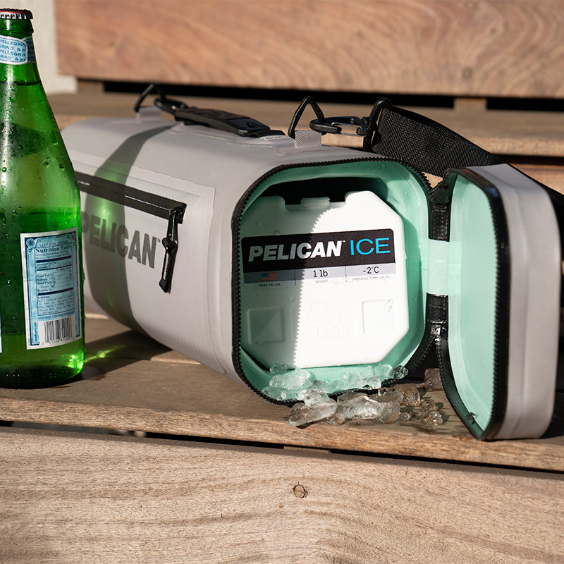 Pelican Ice Pack custom-designed to fit in Pelican coolers
