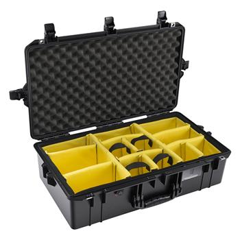 Black Pelican 1605 Air Case with Padded Dividers