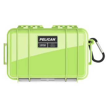 Bright Green Pelican™ 1050 Micro Case with black liner