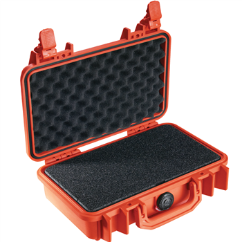 Orange Pelican 11 Case with Foam
