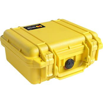 Yellow Pelican 1200 Case with No Foam