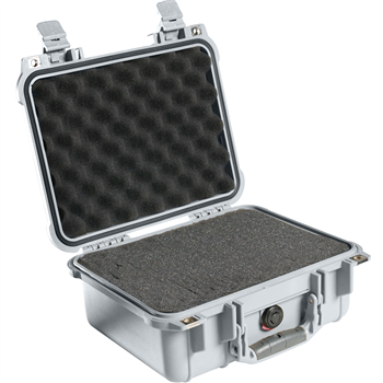 Silver Pelican 1400 Case with Foam