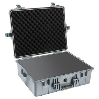 Silver Pelican 1600 Case with Foam