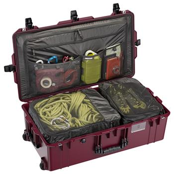 Oxblood Pelican™ 1615 Air Travel Case (Contents Shown Not Included)