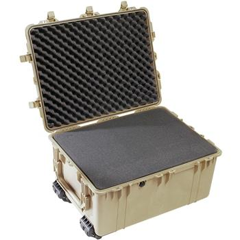 Desert Tan Pelican 1630 Transport Case with Foam