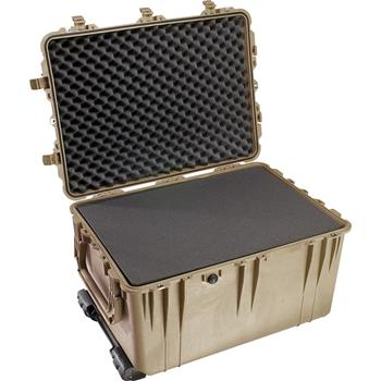 Desert Tan Pelican 1660 Case with Foam