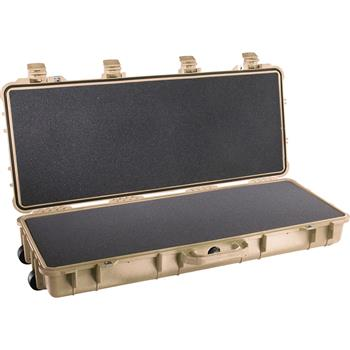 Desert Tan Pelican 1700 Long Case with Foam