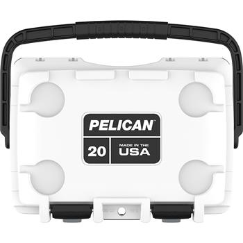 Pelican™ 20 Qt Elite Cooler with integrated cupholders