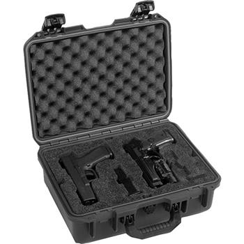 Black Pelican-Hardigg™ iM2200 Pistol Case (Contents shown not included)