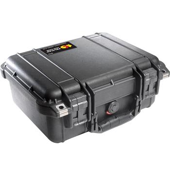 Black Pelican 1400 Case with No Foam